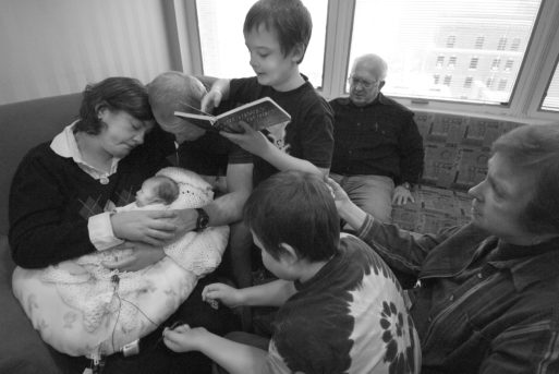 Todd Hochberg's photo of babies who are dying or have died