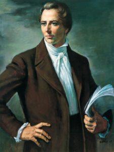 Joseph Smith, the Prophet who founded the Mormon religion