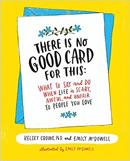 "Cover of the book ""There Is No Good Card for This"""