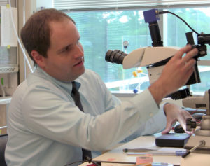 Matthew Ward who is developing new technology for spinal cord stimulation