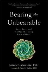 "Book cover of ""Bearing the Unbearable"""
