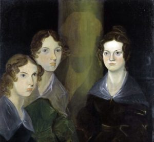Anne, Emily, Charlotte. Portrait by brother Branwell. Photograph: Corbis via Getty Images