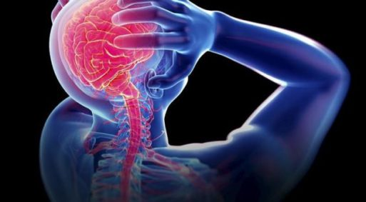 Illustration of a person in pain who could be helped by spinal cord stimulation