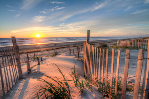 Outer banks at sunrise is a place to make memories