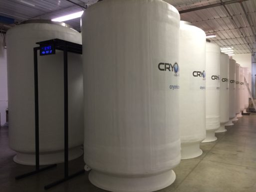 Cryonics Institute patient staging area