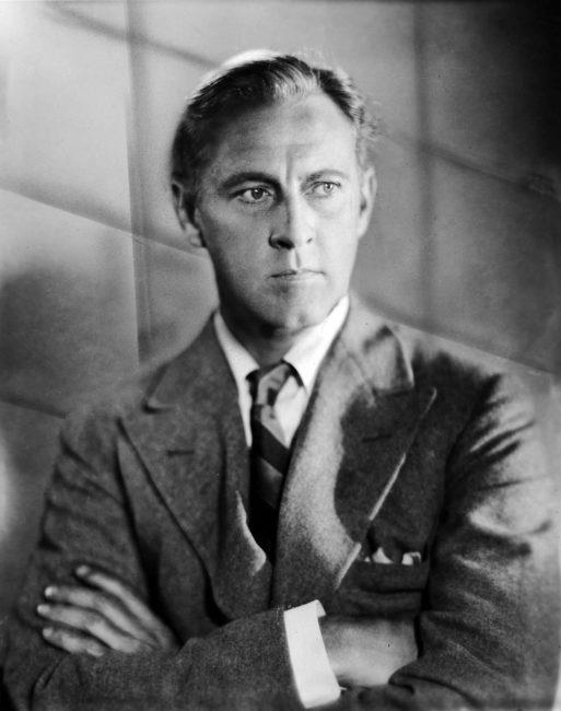 Multi-talented actor John Barrymore