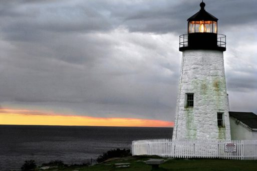 A lighthouse symbolizes hope and solace