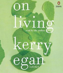 """Book cover """"On Living"""" by Kerry Egan"""