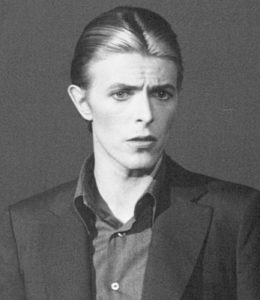"""A portrait of David Bowie from the 1960s, as shown in the documentary """"David Bowie: The Last Five Years"""""""