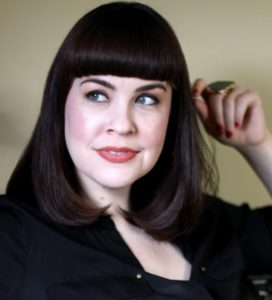 """Portrait of Caitlin Doughty, author of """"From Here To Eternity"""""""