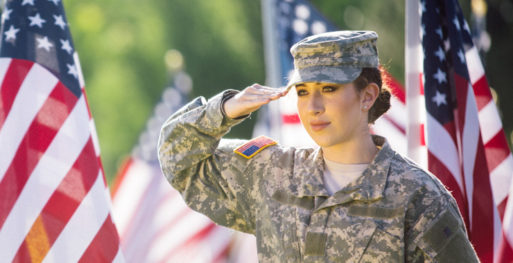 A woman combat veteran needs more than suicide prevention effotrs