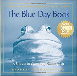 Cover of The Blue Day Book 10th anniversary edition
