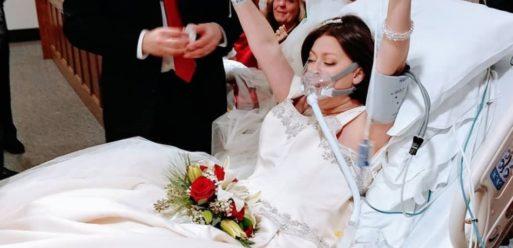 Heather Mosher's wedding photo