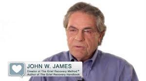 "John W. James author of ""Grief Recovery Handbook"""
