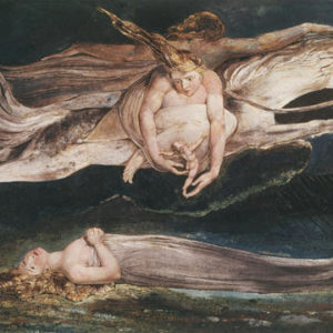 The singer's lover flies away with death